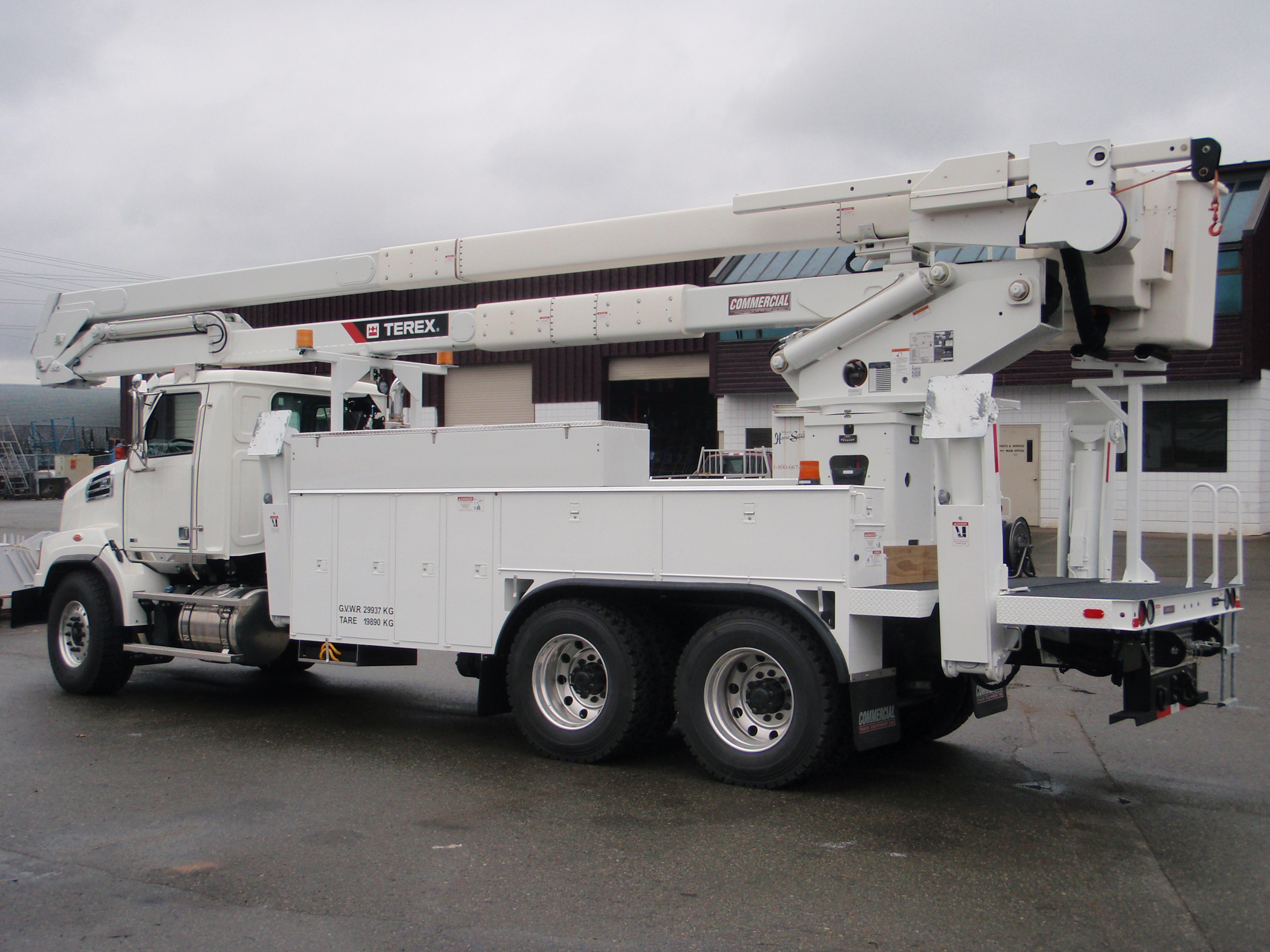 Aerial Lifts For Trucks Commercial Truck Equipment