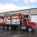Flat Bed Truck With Crane