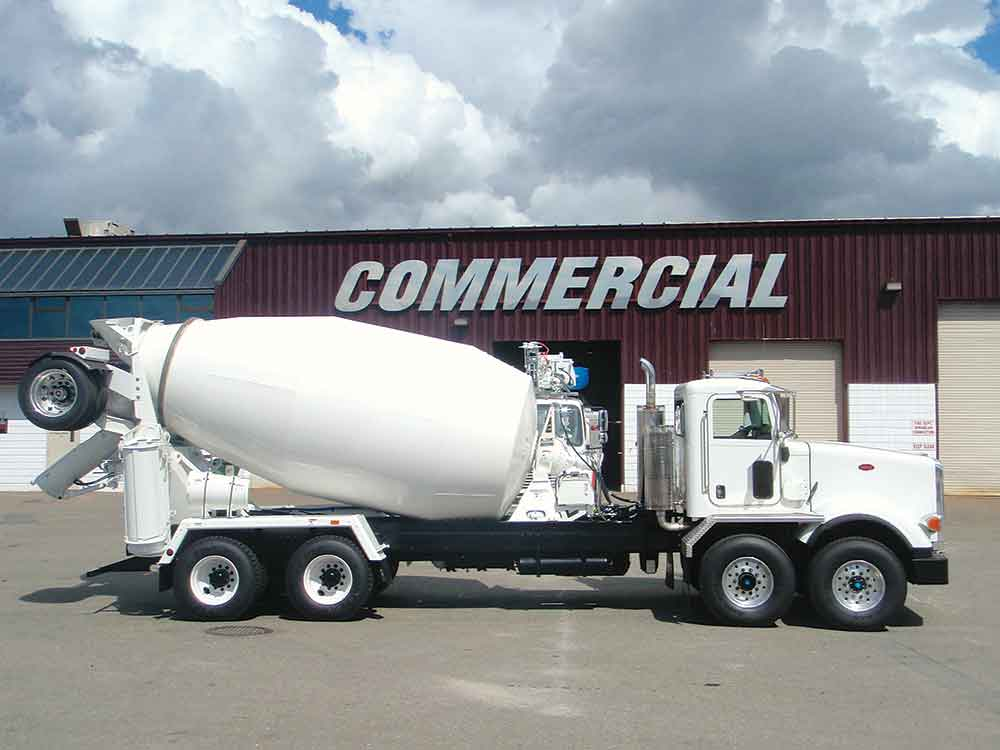 Cement Mixer Truck Attachment, Concrete Truck Equipment Sales