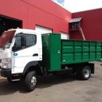 Small Dump Truck Box