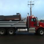 Dumping Box On Truck