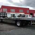 Flat Bed Tow Truck