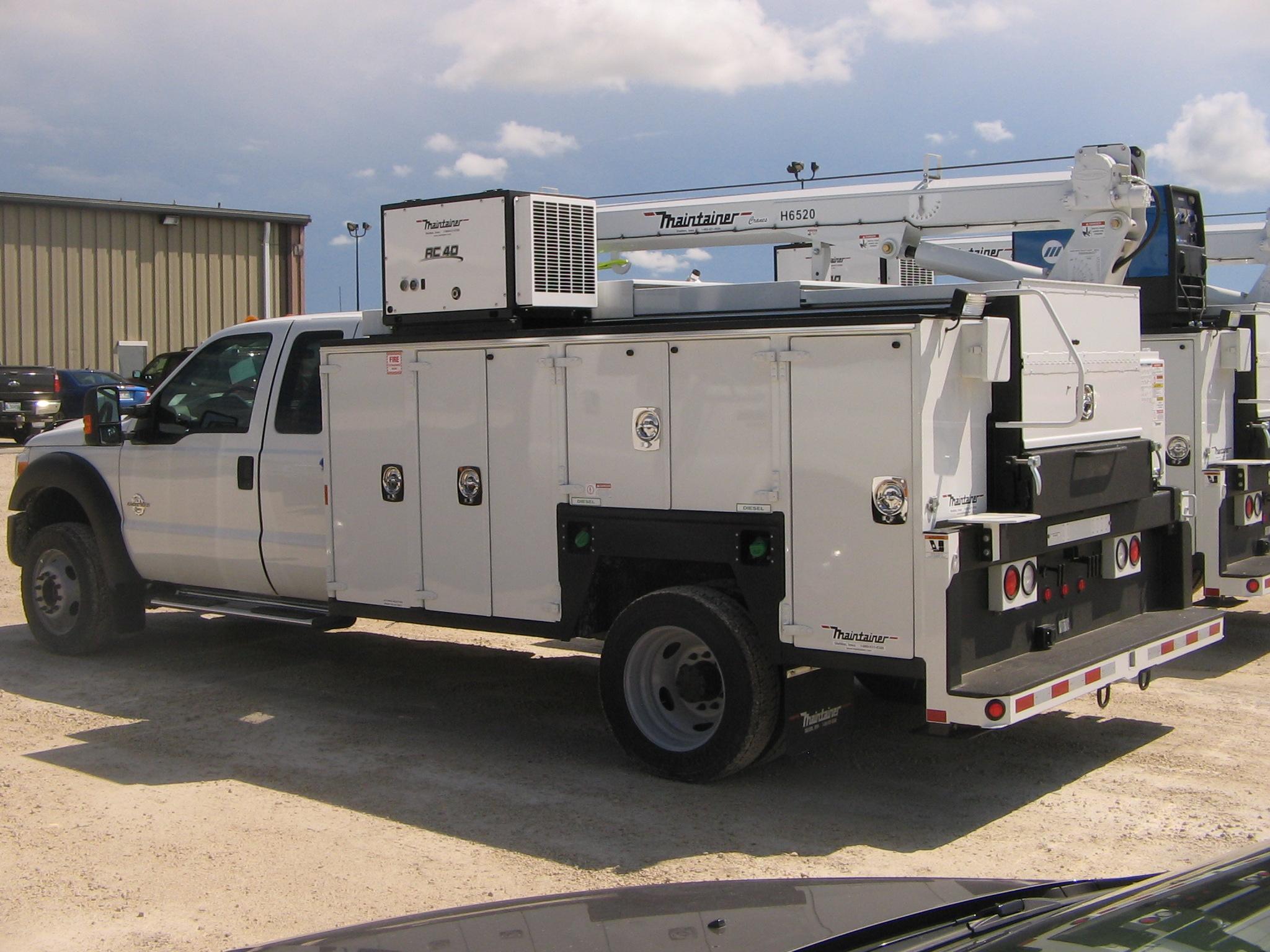 Service Truck Bodies, Tool Storage, Mining, Utility Truck Bodies