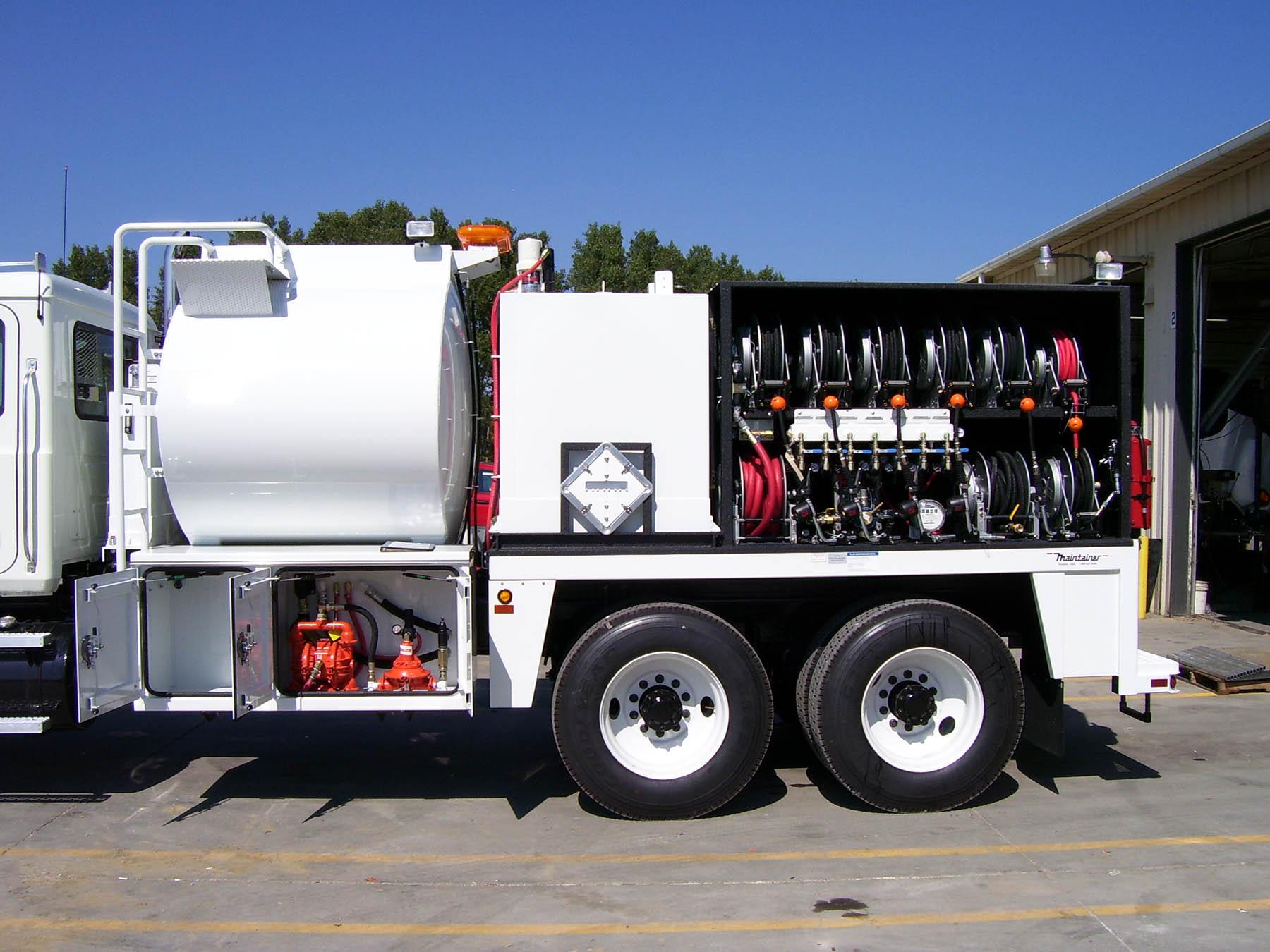Service Truck Bodies Tool Storage Mining Utility Truck
