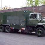 Palfinger Service Truck Body