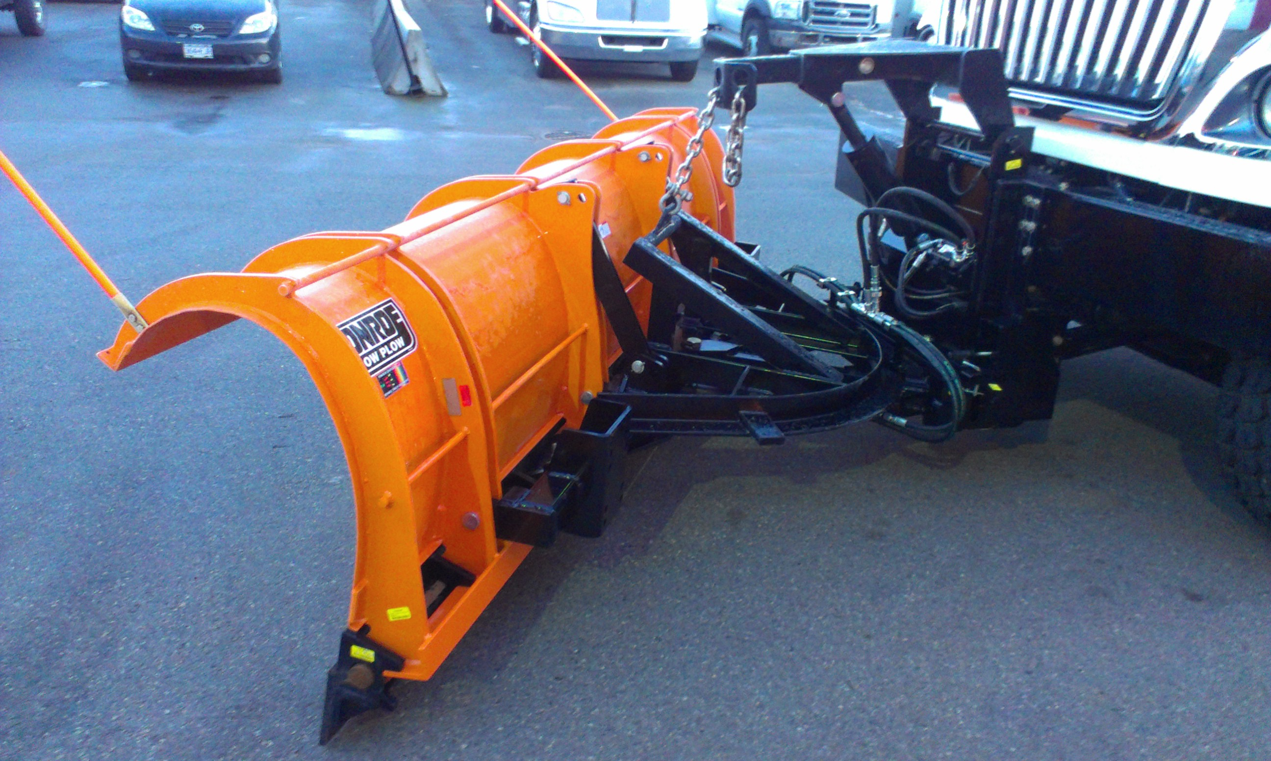 Monroe Truck Equipment >> Snow Plows and Salt Spreaders for Trucks | Commercial