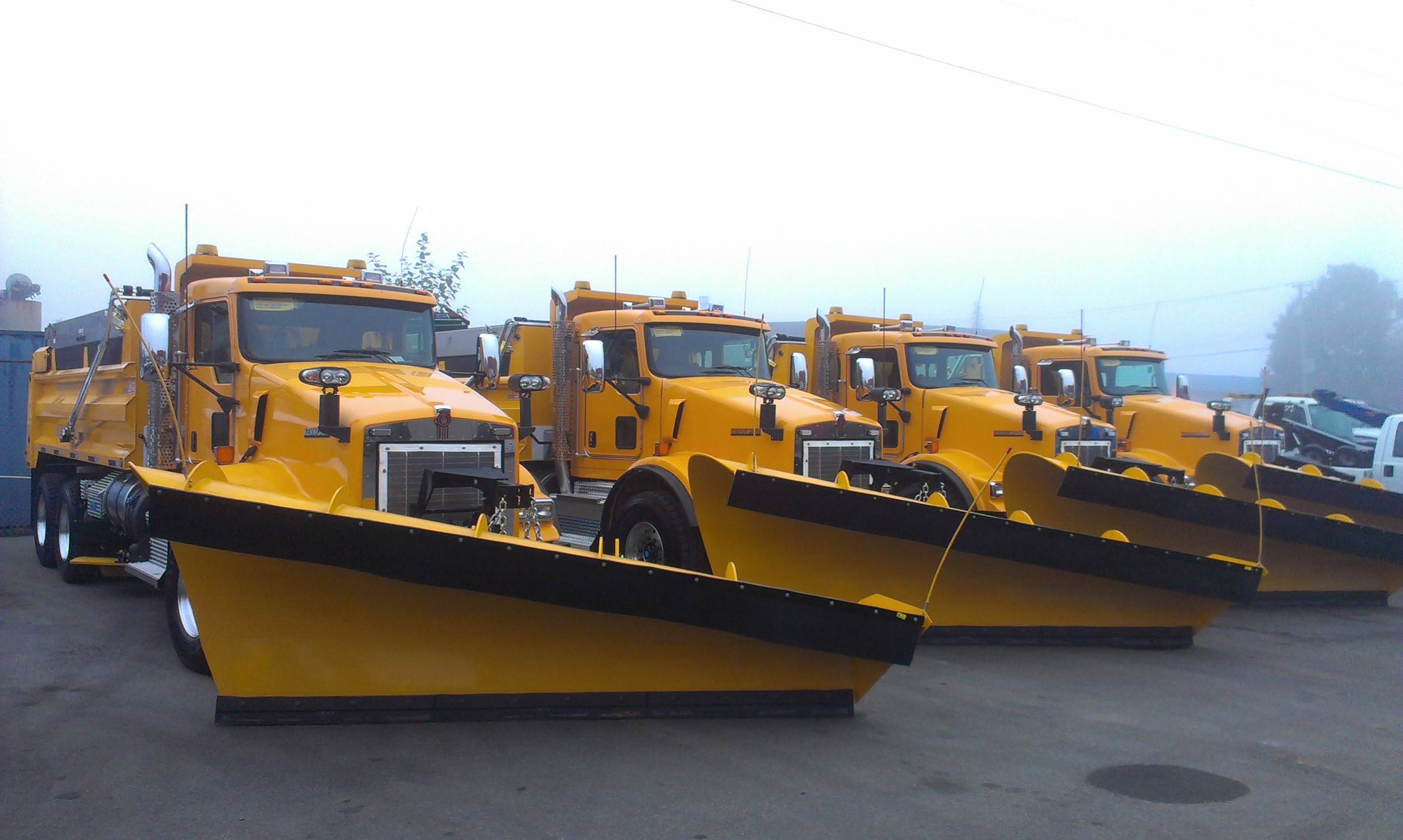 Snow Plows and Salt Spreaders for Trucks | Commercial Truck