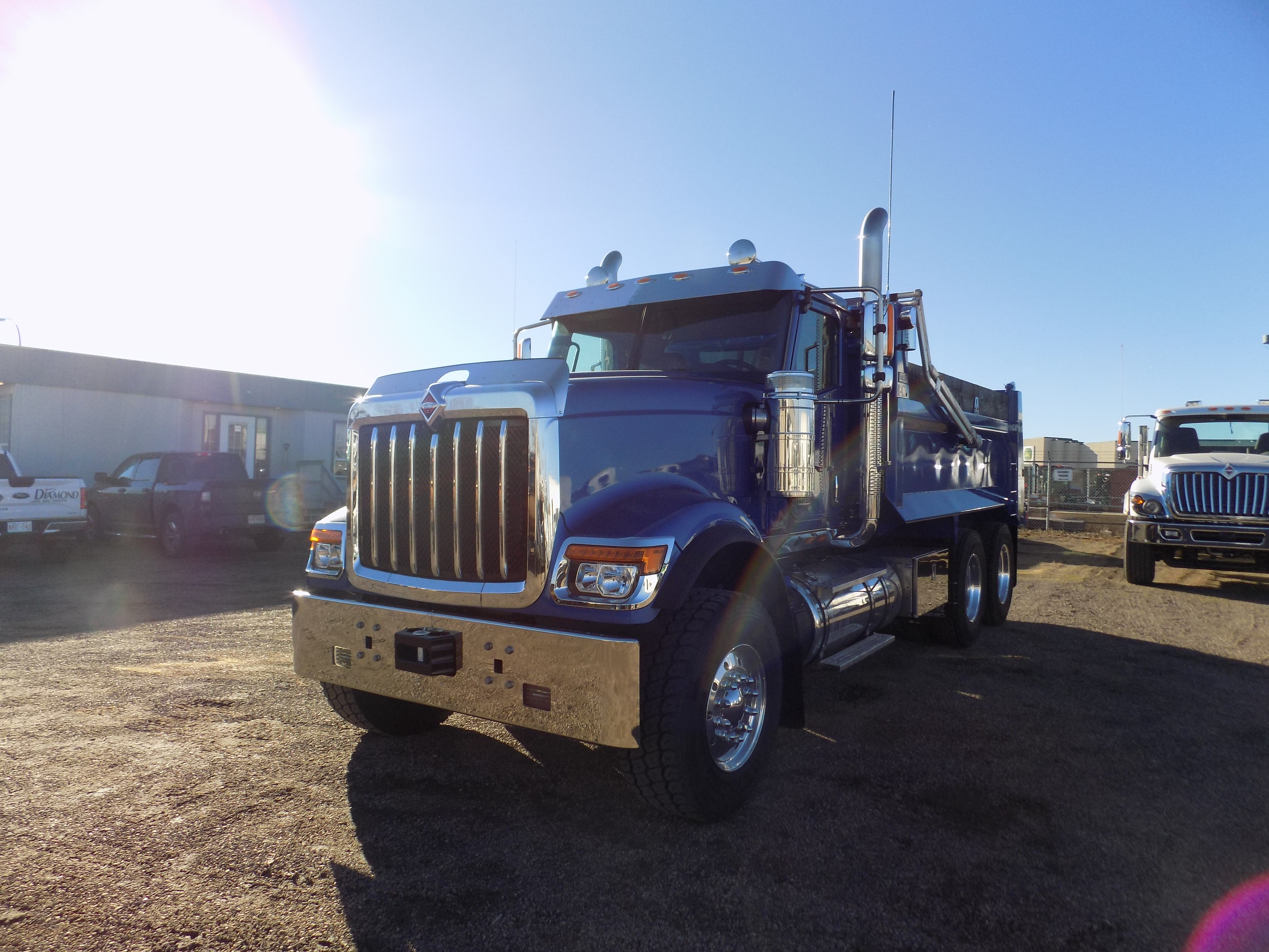Bibeau 15 Bfls On International Hx520 6x4 Commercial