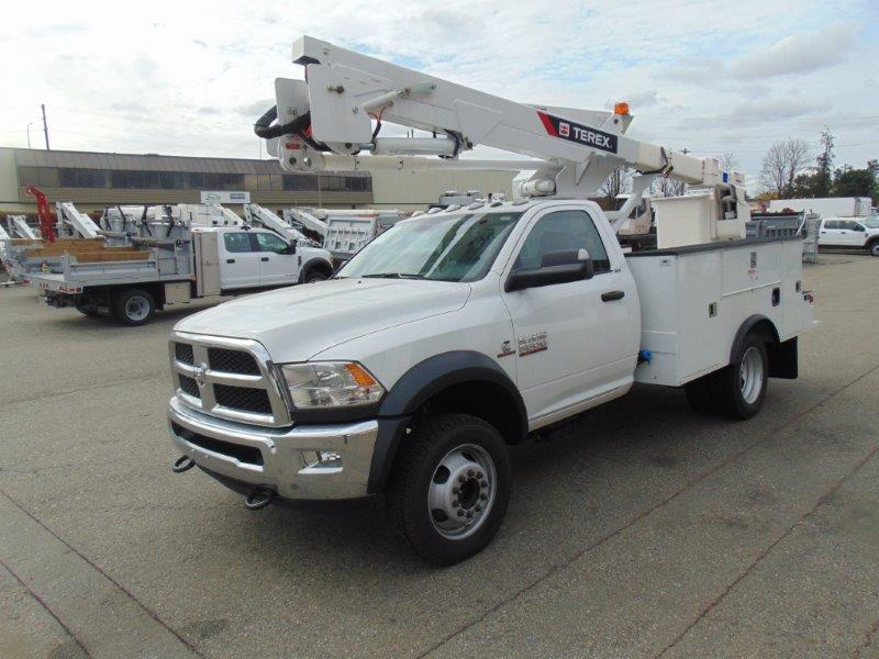 Terex Hi-Ranger LT40 on 2016 Dodge 5500 4×4