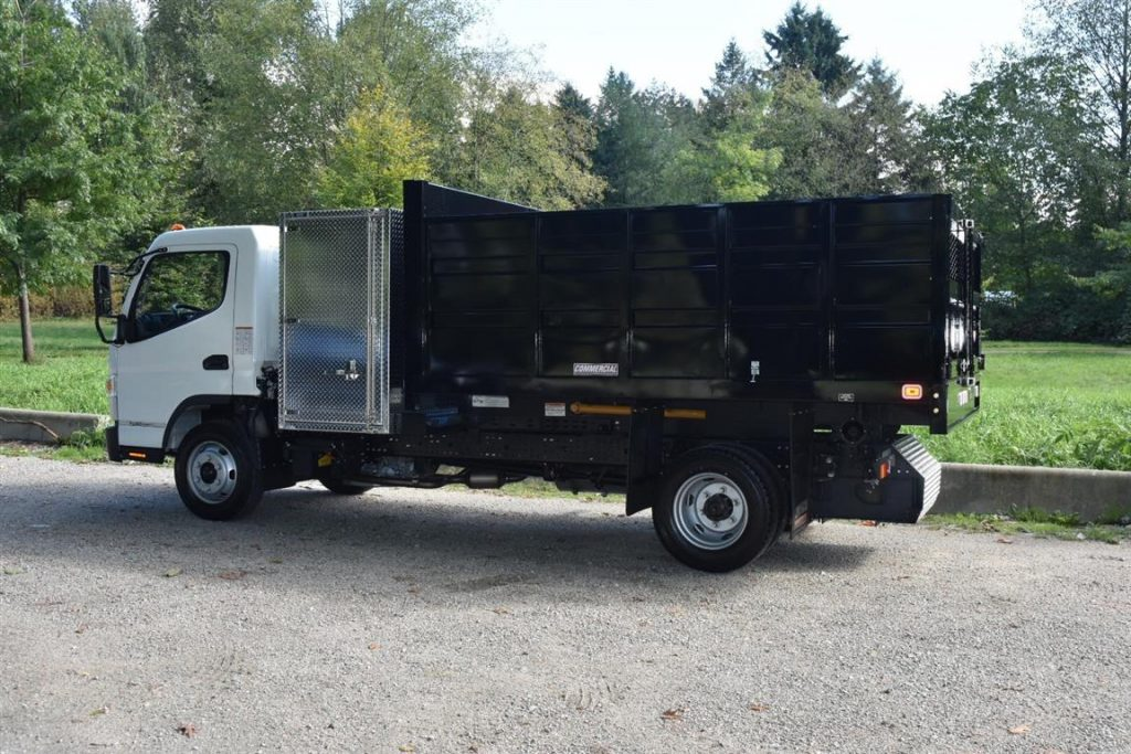 Knapheide Landscaper Body on 2018 Fuso FE160