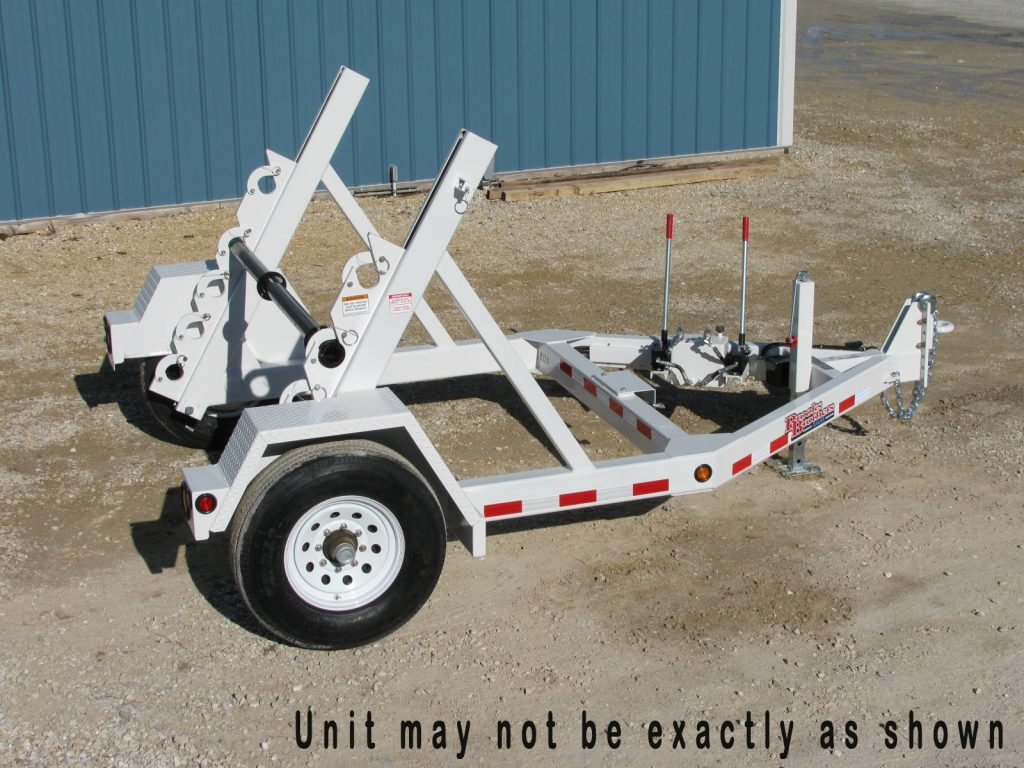 Brooks Brothers SLR 810 Reel Trailer