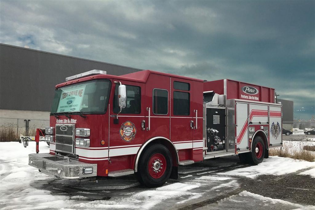Pierce Saber Top Mount Pumper