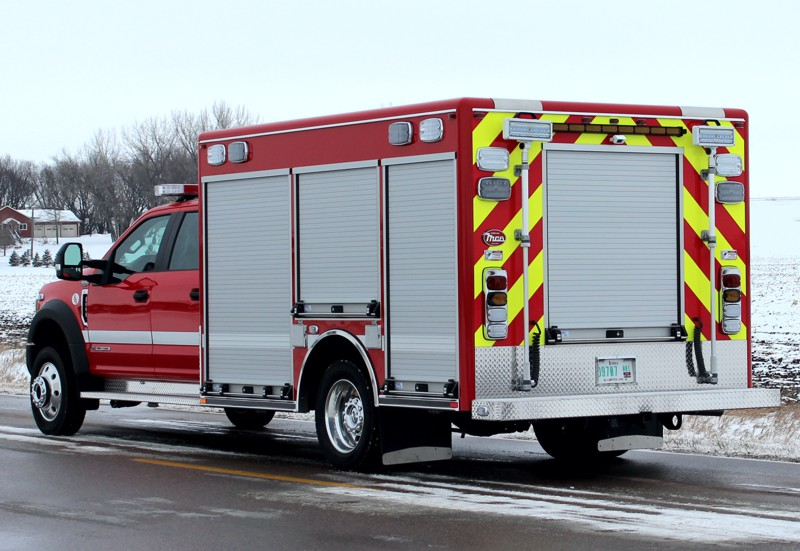 12′ Walk-Around Rescue on Ford F550