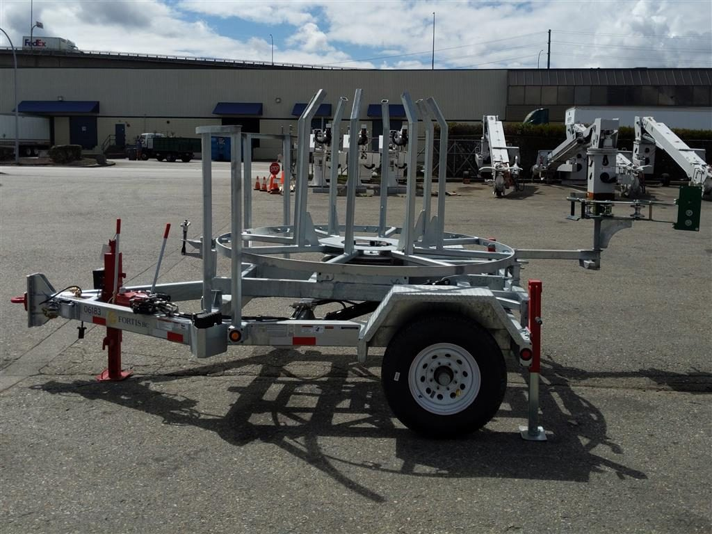 Brooks Brothers Coil Pipe Trailer
