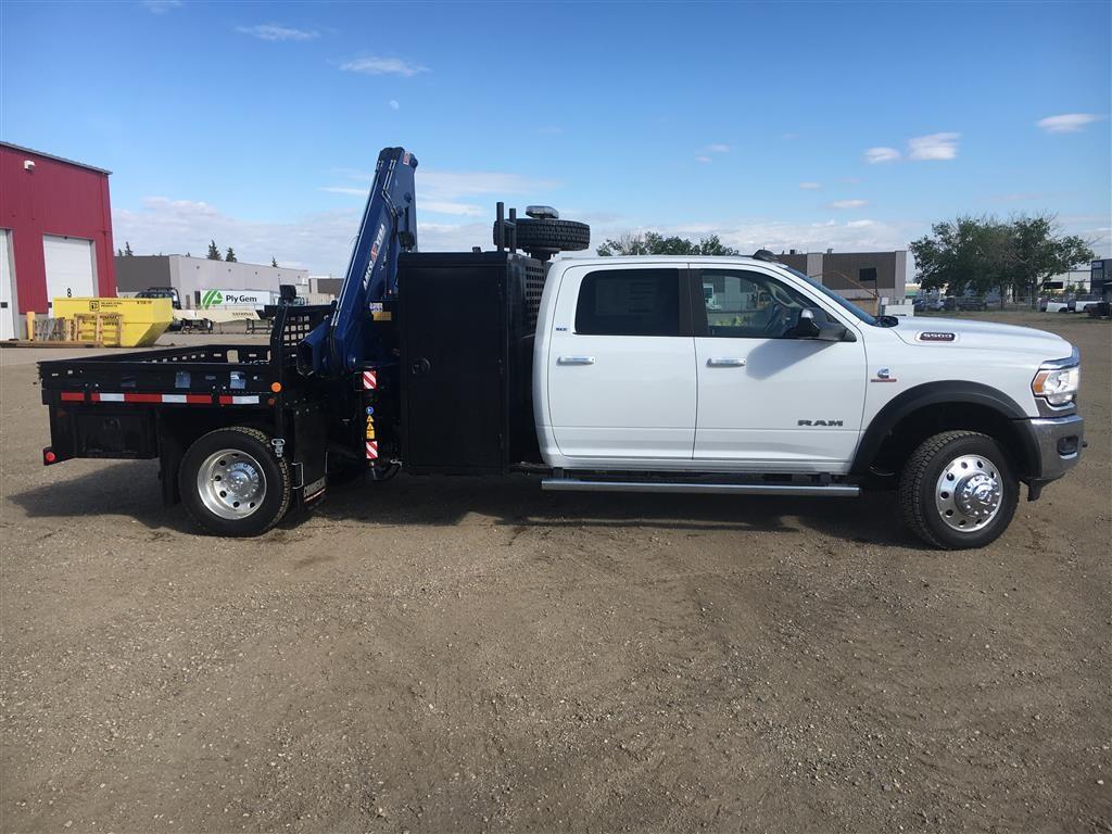 Oilfield Service Truck with Amco Veba 906N Crane on Dodge 5500