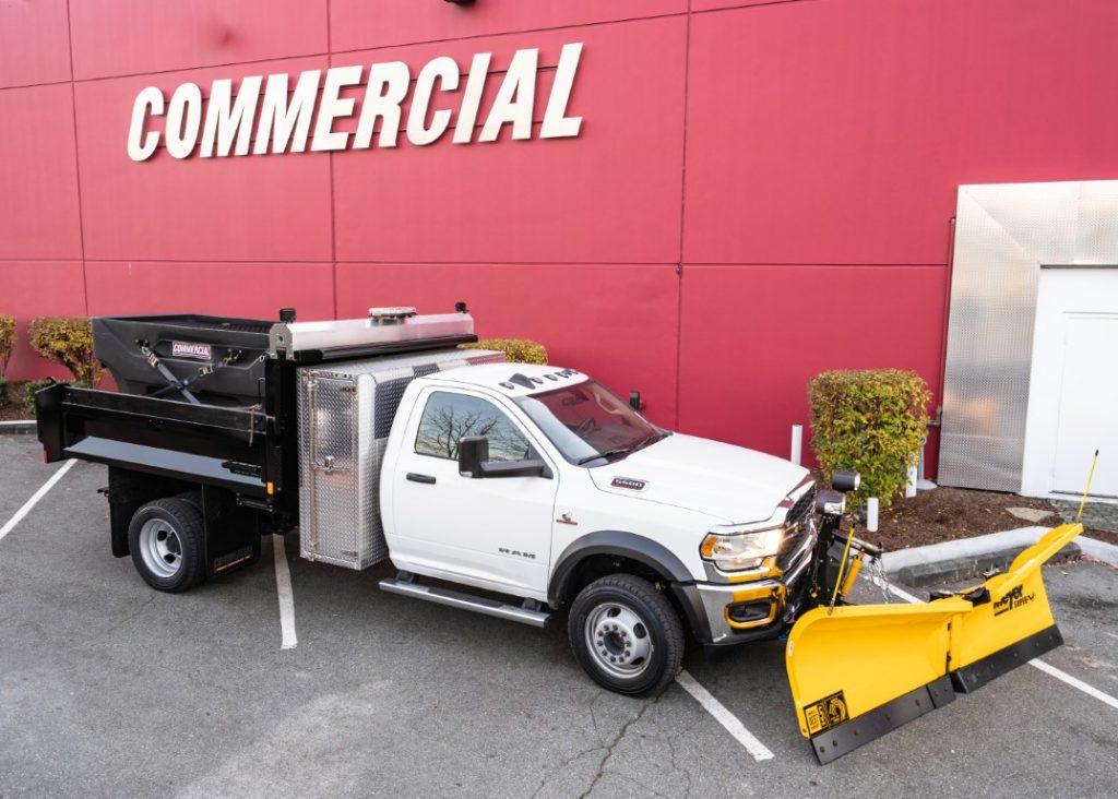 Knapheide 9′ Dump Box on Dodge Ram 5500